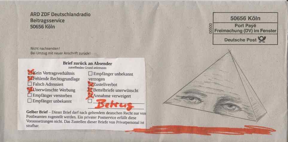 briefe in deutschland